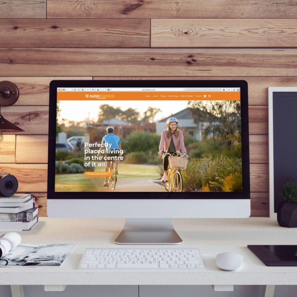 Aubin Central Land Estate Website