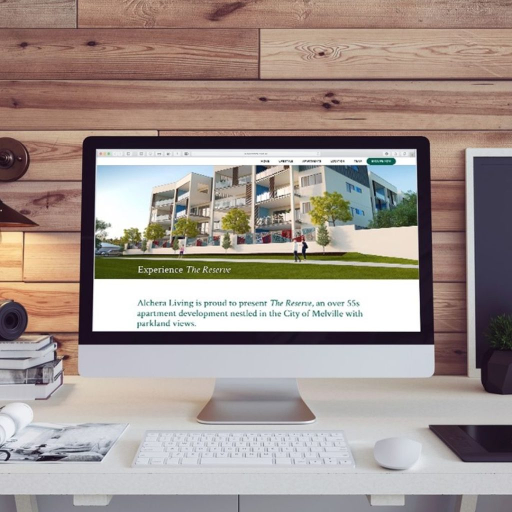 The Reserve Apartments Website