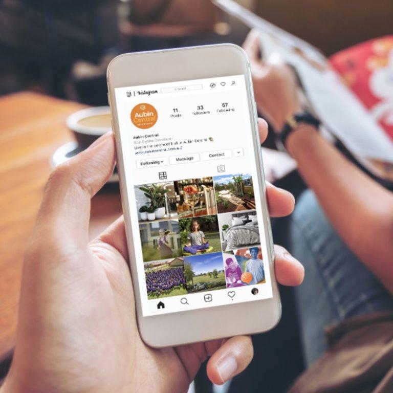 Aubin Central Land Estate Instagram Page