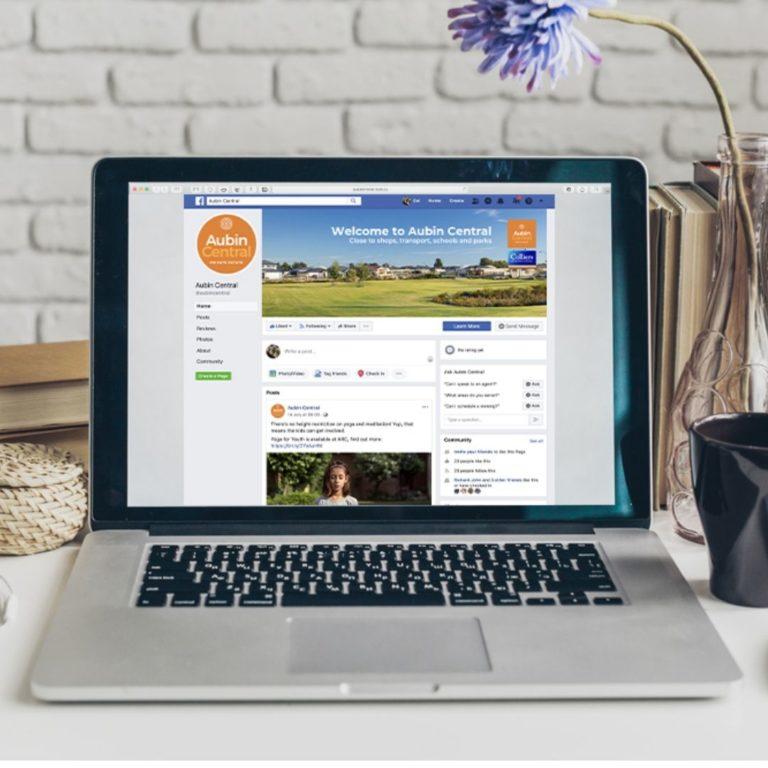 Aubin Central Land Estate Facebook Page