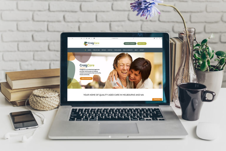 CraigCare aged care website