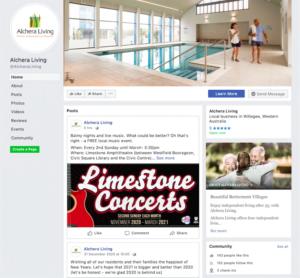 Facebook content management